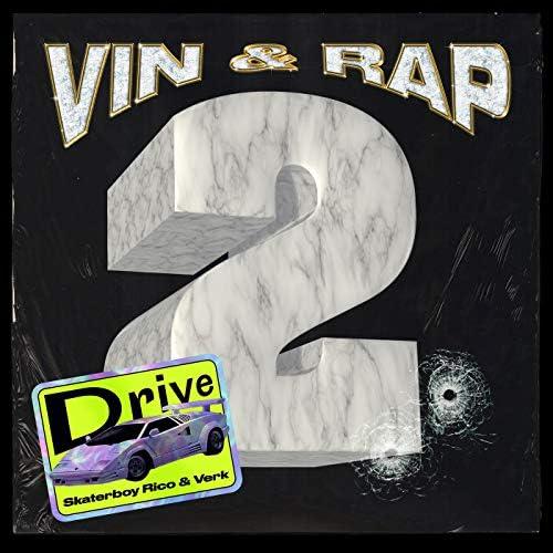 Vin og Rap, Skaterboy Rico & Verk