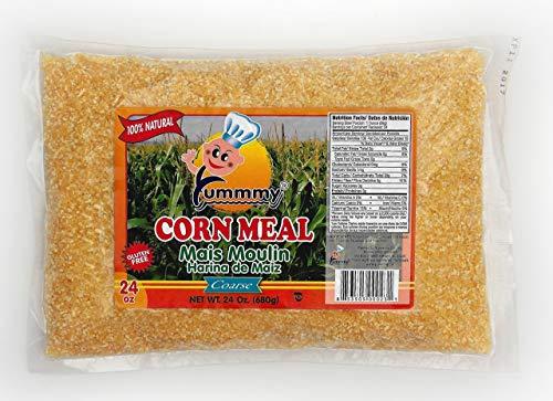 Yummmy Cornmeal Coarse 24 Oz, Kosher Certified, Gluten Free
