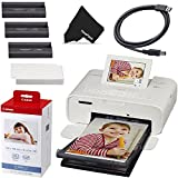 Canon SELPHY CP1300 Desktop or Portable Inkjet Laser Bluetooth Wireless Compact (4x6...