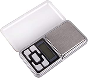 ميزان رقمي صغير، مقياس جيب لتزن المجوهرات 500 جرام
