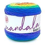Lion Brand Yarn Mandala Baby yarn, Rainbow Falls