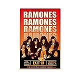 The Ramones 1979 Tour-Poster, Leinwandbild, Heimdekoration,