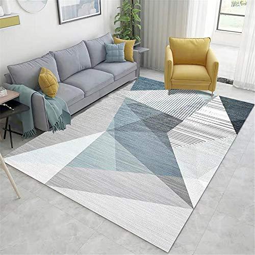 alfombras en rollo decoracion salon La alfombra de la sala es resistente a la suciedad, rectangular, suave, a prueba de humedad y antideslizante. cuadro decoracion salon 50X80CM 1ft 7.7'X2ft 7.5'