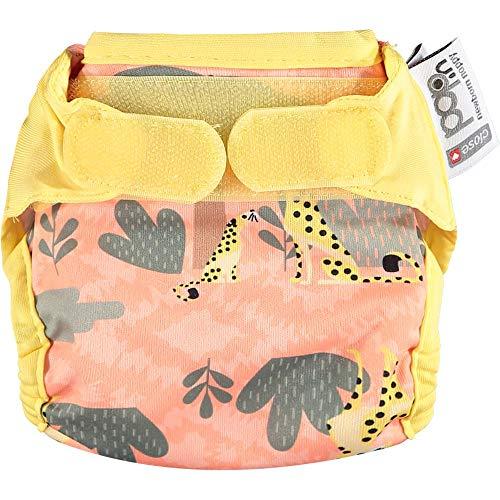 Close Pop-in Single Newborn Reusable Cloth Nappy Bamboo Aplix Fastener...