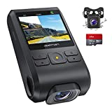 APEMAN Dash Cam FHD 1080P Car Camera with Metal Design,2.0 inch LCD Screen,170° Wide Angle,Night Vision,Loop Recording,G-Sensor,Motion Detection
