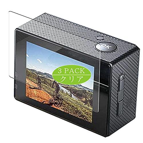 VacFun 3 Pezzi Pellicola Protettiva, compatibile con Crosstour CT7000 Action Camera (Non Vetro Temperato Protezioni Schermo Cover Custodia) Screen Protector