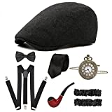 CHUANGLI 1920S Mens Great Gatsby Accessories...