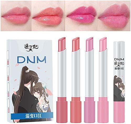 4 Pack Cigarette Lipstick Pack Set Mini Listick Kit 4 Colors Colour Changing Lip Balm Moisturizing product image