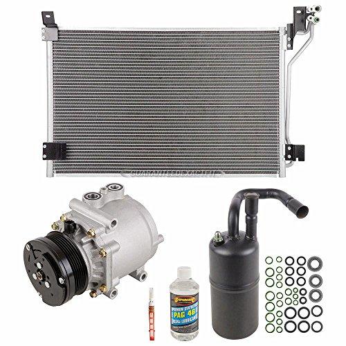 A/C Kit w/AC Compressor Condenser & Drier For Ford Crown Victoria Mercury Grand Marquis & Marauder - BuyAutoParts 60-82496CK New