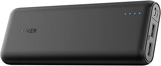 Anker PowerCore Portable Charger 15600mAh with 4.8A Output, PowerIQ and VoltageBoost Technology, Power Bank for iPhone iPad and Samsung (Renewed)