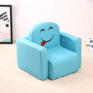 HFYAK Children s Mini Sofa Children s Sofa Mini Children s Sofa Movable Mini  Seater Solo Wood Wood Living Room Bedroom Nursery 48x40x42cm  19x16x17inch