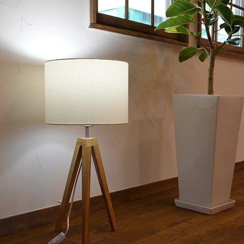 間接照明 アンティーク調 寝室 【北欧照明】TRIPOD Large トリポッド・ラージ 1灯タイプ スタンドライトの写真
