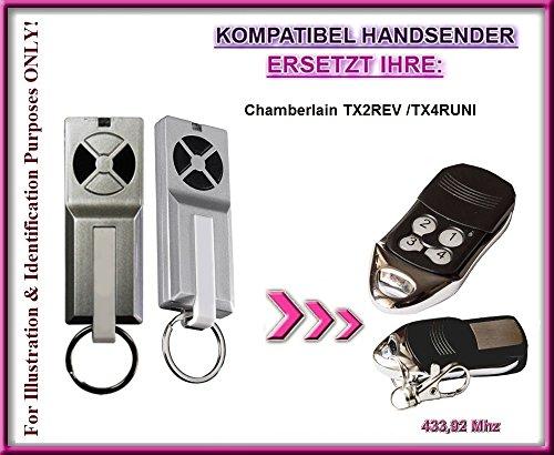 Chamberlain TX2REV / Chamberlain TX4RUNI kompatibel handsender, ersatz sender, ersatzgerät!!! Top Qualität fernbedienung für den besten Preis!!!