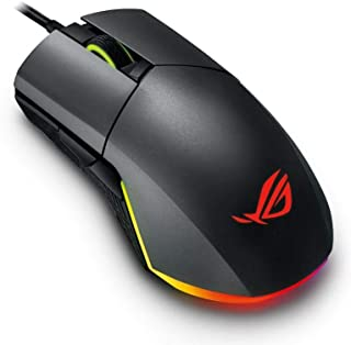 ASUS P503 ROG Pugio Aura RGB USB Wired Optical Ergonomic Ambidextrous Gaming Mouse 7200DPI - 90MP00L0-B0UA00