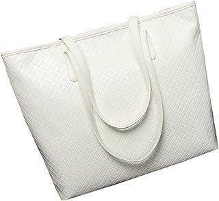 トートバッグ レザー レディース 肩掛け A4 バッグ ファスナー付き 大容量 合成皮革 通勤 鞄
