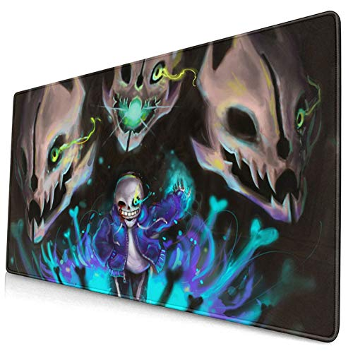Mouse Pad Under-Tale Large Gaming Mousepad Extended Desk Mat Ultra Thick Mousepad for Office Gamer Home 29.5'X15.8'