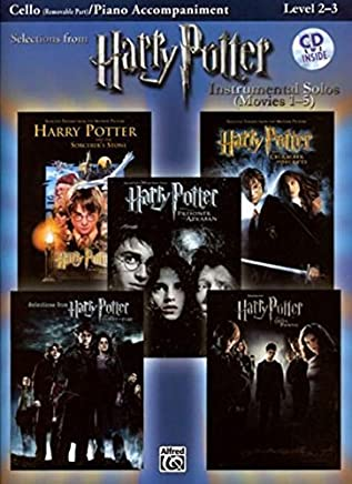 Harry Potter Instrumental Solos for Strings (Movies 1-5): Cello, Book & CD (Pop Instrumental Solo Series) by Unknown(2008-02-01)
