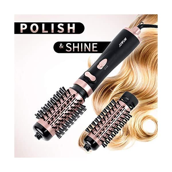 Beauty Shopping JOYYUM 1000W 3-in-1 Hot Air Spin Brush for Styling and Frizz Control Auto-rotating