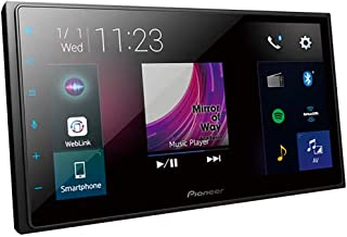 PIONEER 6.8-Inch Double-DIN in-Dash Digital Multimedia Receiver with Bluetooth, Apple CarPlay, Android Auto, and SIriusXM Ready