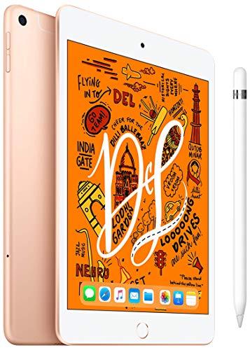iPad Mini 7.9 inch Wi-Fi+Cellular 256 GB Gold+Apple Pencil (1st Generation)