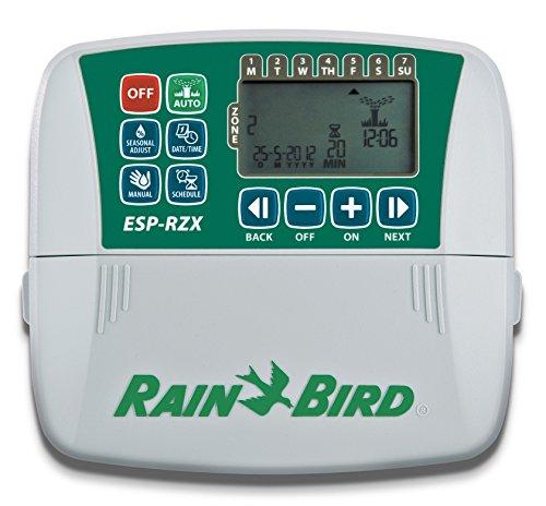 Commande, programmateur Rainbird 6 stations, transformateur extérieur, mondonatura sRL