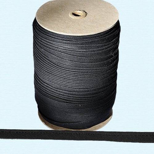 """Piping Cord ~ 3/8"""" Piping Cord -1/8"""" Filler Cord BLACK (10 Yards / Pack)"""