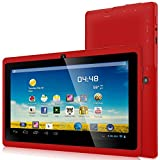 ZeepadA 7DRK Dual Core 4.2 Red Android Tablet 7 Inch, Multi-Touch, Dual Camera, Wi-Fi (May 2014 RED)