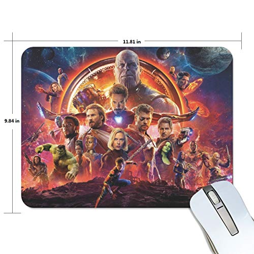 Marvel the Avengers 2 Age of Ultron Personalized Custom Gaming Mousepad Rectangle Mouse Mat Pad Office Accessory And Gift Design-LL762
