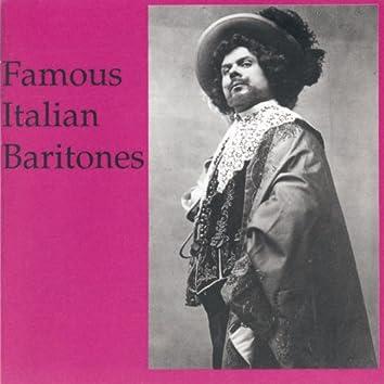 Lebendige Vergangenheit - Famous Italian Baritones