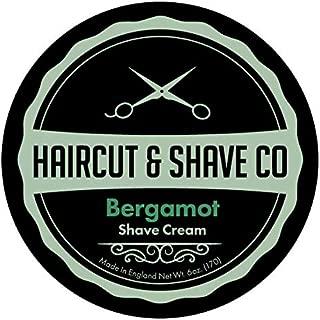 Haircut & Shave Co. Shaving Cream Bergamot 6 oz.