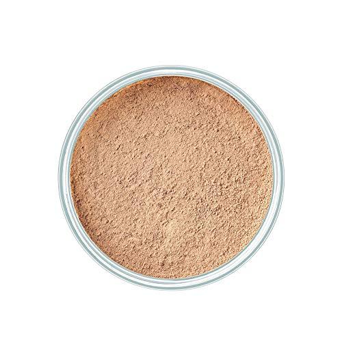 ARTDECO Mineral Powder Foundation - Schützendes, loses Puder in kompakter Form für ein ebenmäßiges, zart mattiertes Finish - 1 x 15 g
