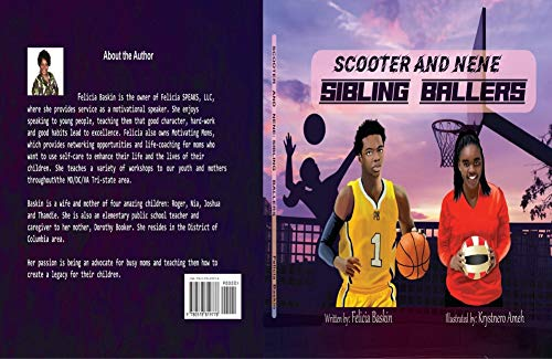 Scooter and NeNe: Sibling Ballers (English Edition)