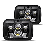 2021 New Osram Chips 180W DOT 500% Brighter Anti-glare H6054 5x7 7x6 Led Headlights, w/ DRL Turn Signal Hi/Low Sealed Beam Compatible with Jeep Cherokee XJ Wrangler YJ Ford Chevy GMC Toyota Nissan etc