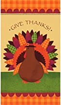 Thanksgiving Turkey Orange Towels Tableware