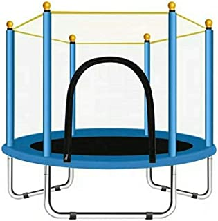 """YeTrini 55"""" Mini Trampoline for Kids Toddler Baby Boys Girls, Indoor or Outdoor Trampoline with Safety Enclosure Net for C..."""