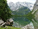 Zopix Premium Poster Berge Watzmann Berchtesgadener