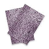 AHB Glitter Tessuto Lucido Laser Paillettes Patchwork per FAI DA TE Borsa Scarpe Fare Fiocco Materiale Fatta In Similpelle Tessuto, 420