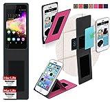 Hülle für Wiko Rainbow Up Tasche Cover Case Bumper | Pink