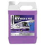 STAR BRITE RV Wash & Wax w/PTEF (71500) One Step Concentrated Cleaner - Gallon, 128 fluid ounce