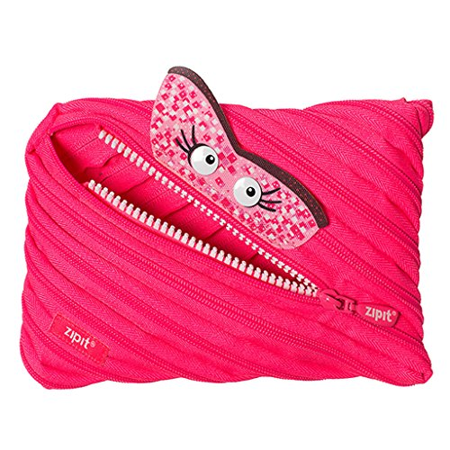 ZIPIT Talking Monstar Jumbo Federmäppchen, Rosa