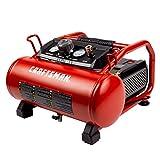 Craftsman Air Compressor, 3 Gallon Max 155 Psi Pressure 1.5 HP Oil-Free...