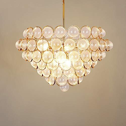 Luce Plafoniera Arte Villa de estilo europeo de lujo principal personalizada de moda moderna de los 60 * 60 * 38 cm de la lámpara LED E27 caliente de oro luz araña de cristal