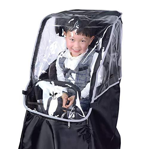 Impermeable impermeable de la cubierta del poncho del PVC,Cubierta del toldo del asiento del niño de la bici