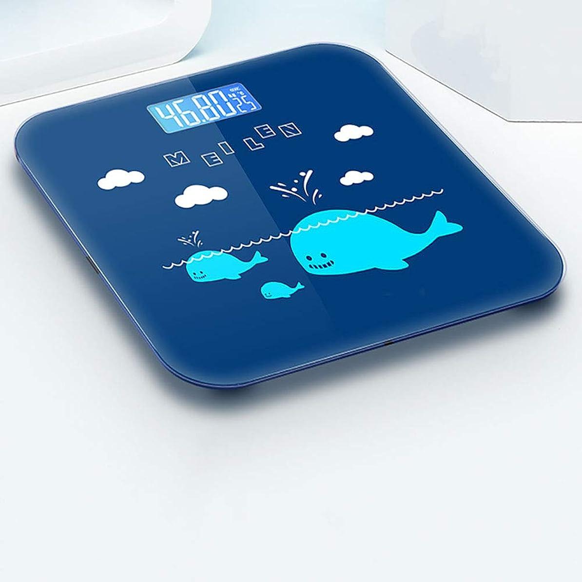 賢明な滴下アーティスト体脂肪計、デジタル体重計、体重計、体組成計
