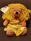 Qiyun Disney Store Winnie The Pooh as Zodiac Horoscope Virgo Bean Bag Plush 8