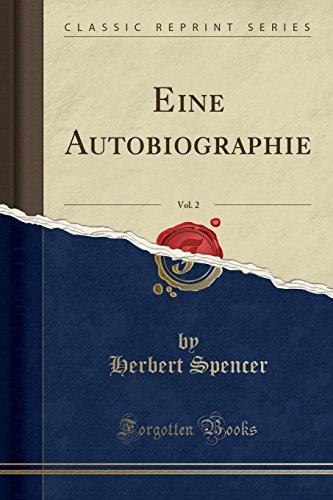Eine Autobiographie, Vol. 2 (Classic Reprint)
