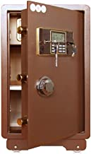 Safe Fireproof Safe and Waterproof Safe with Digital Keypad Electronic Digital Safe Jewelry Home Secure Cabinet Safes (Col...