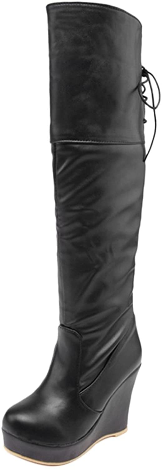 FANIMILA Women Warm Long Boots