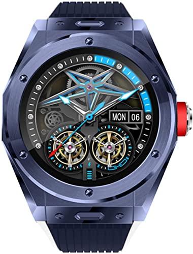 PKLG Podómetro inteligente Reloj Ejercicio Frecuencia Cardíaca Monitoreo Bluetooth Llamada Música (B) (D)