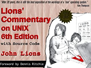 Lions' Commentary on UNIX with Source Code by John Lions (1-Jan-1996) Paperback